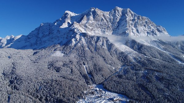 Zugspitzpanorama Winter