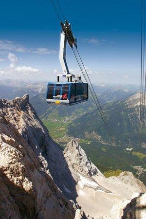 Gondel zur Zugspitze