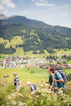 Wanderer in Ehrwald