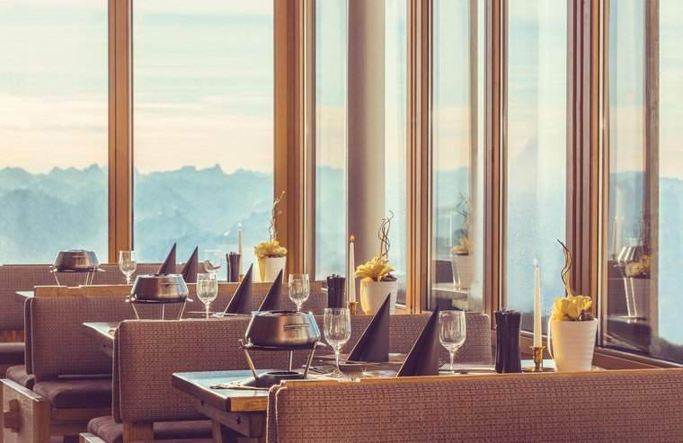 Speiseraum Zugspitz Resort