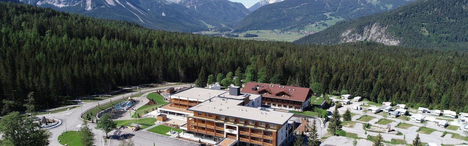 Aussenansicht Zugspitz Resort