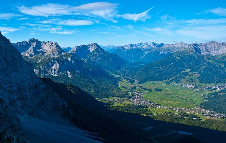 Panoramabild Zugspitze