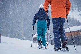 Menschen beim Schneeschuhwandern