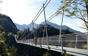 Hängebrücke Highline