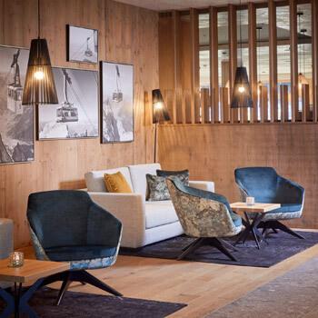Lounge im Zugspitzresort